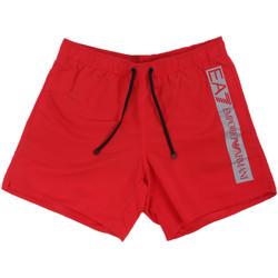 Textil Homem Fatos e shorts de banho Ea7 Emporio Armani 902000 0P732 Vermelho