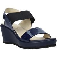 Sapatos Mulher Sandálias Esther Collezioni ZB112 Azul