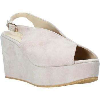 Sapatos Mulher Sandálias Esther Collezioni ZC 107 Bege
