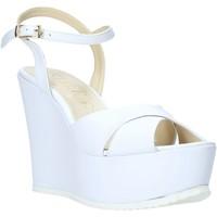 Sapatos Mulher Sandálias Esther Collezioni G 029 Branco