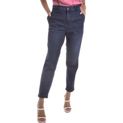 Textil Mulher Calças de ganga Gas 365786 Azul