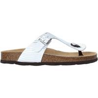 Sapatos Mulher Chinelos Grunland CB2469 Prata