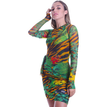 Textil Mulher Vestidos curtos Versace D2HVB495S0782983 Preto