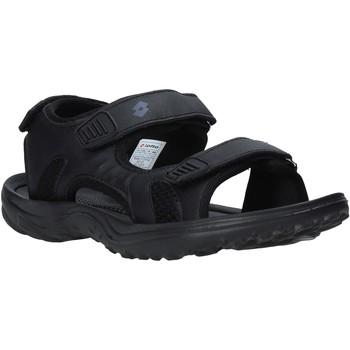Sapatos Homem Sandálias desportivas Lotto L52291 Preto
