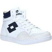 Sapatos Homem Sapatilhas de cano-alto Lotto L56883 Branco