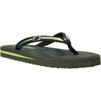 Sapatos Homem Chinelos Lotto L58324 Verde