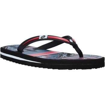 Sapatos Homem Chinelos Lotto L58324 Vermelho