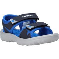 Sapatos Criança Sandálias Lotto L55098 Azul