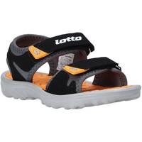 Sapatos Criança Sandálias Lotto L55098 Preto