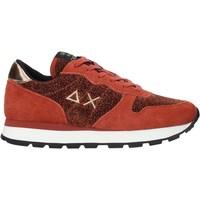 Sapatos Mulher Sapatilhas Sun68 Z40205 Vermelho
