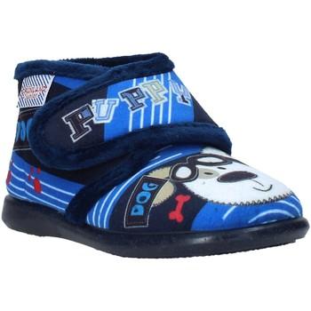 Sapatos Criança Chinelos Grunland PA0623 Azul