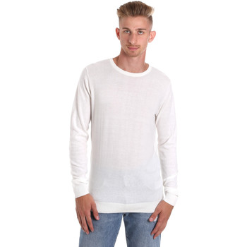 Textil Homem T-shirt mangas compridas Sseinse ME1504SS Branco