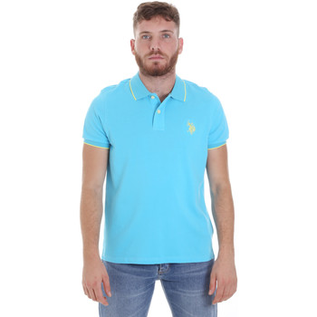 Textil Homem Polos mangas curta U.S Polo Assn. 58561 41029 Azul