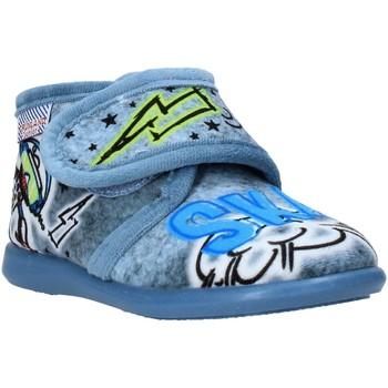 Sapatos Criança Chinelos Grunland PA0628 Azul
