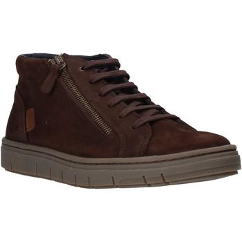 Sapatos Homem Sapatilhas de cano-alto Grunland PO1717 Castanho