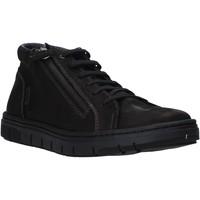 Sapatos Homem Sapatilhas de cano-alto Grunland PO1717 Preto