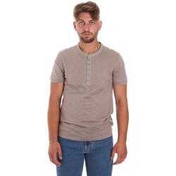 Textil Homem T-Shirt mangas curtas Antony Morato MMKS01725 FA100139 Castanho