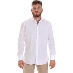 Textil Homem Camisas mangas comprida Les Copains 000.006 P3196SL Branco