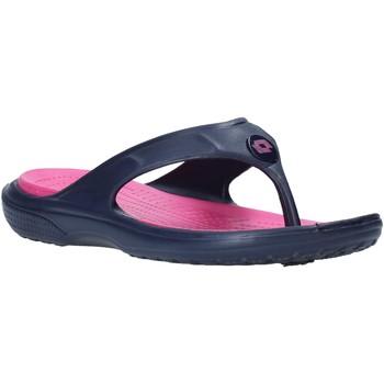 Sapatos Mulher Chinelos Lotto L46823 Azul