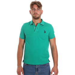Textil Homem Polos mangas curta U.S Polo Assn. 55985 41029 Verde