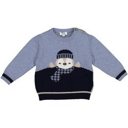 Textil Criança camisolas Melby 20B0100 Azul