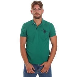 Textil Homem Polos mangas curta U.S Polo Assn. 55959 41029 Verde