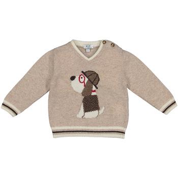 Textil Criança camisolas Melby 20B2130 Bege