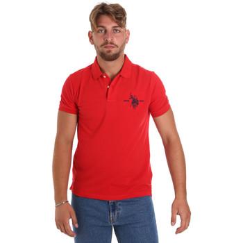 Textil Homem Polos mangas curta U.S Polo Assn. 55959 41029 Vermelho