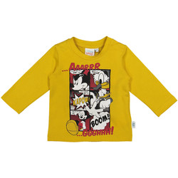 Textil Criança T-shirt mangas compridas Melby 20C2040DN Amarelo