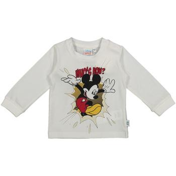 Textil Criança T-shirt mangas compridas Melby 20C2101DN Branco