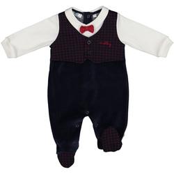 Textil Criança Macacões/ Jardineiras Melby 20N0020 Azul
