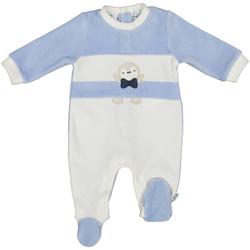 Textil Criança Macacões/ Jardineiras Melby 20N0130 Azul