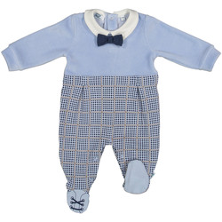 Textil Criança Macacões/ Jardineiras Melby 20N0140 Azul
