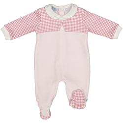 Textil Criança Macacões/ Jardineiras Melby 20N0231 Rosa