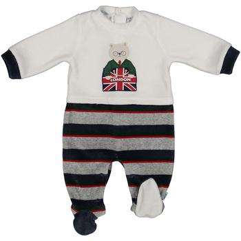 Textil Criança Macacões/ Jardineiras Melby 20N0570 Azul