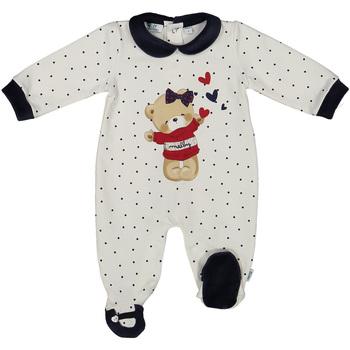 Textil Criança Macacões/ Jardineiras Melby 20N0681 Branco
