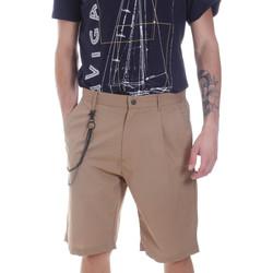 Textil Homem Shorts / Bermudas Antony Morato MMSH00157 FA900118 Bege