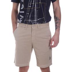 Textil Homem Shorts / Bermudas U.S Polo Assn. 57319 49492 Bege