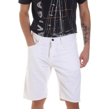 Textil Homem Shorts / Bermudas Antony Morato MMSH00152 FA900123 Branco