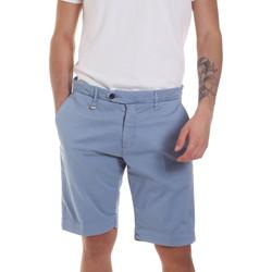 Textil Homem Shorts / Bermudas Antony Morato MMSH00141 FA800129 Azul