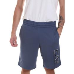 Textil Homem Shorts / Bermudas Ea7 Emporio Armani 3HPS73 PJ05Z Azul