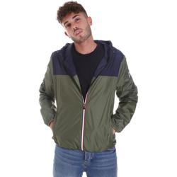 Textil Homem Corta vento Invicta 4431682/U Verde