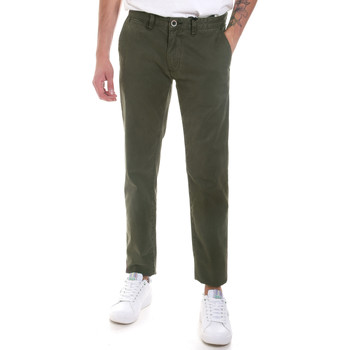 Textil Homem Chinos Gaudi 821FU25013 Verde