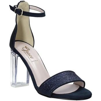 Sapatos Mulher Sandálias Grace Shoes 018TR003 Azul