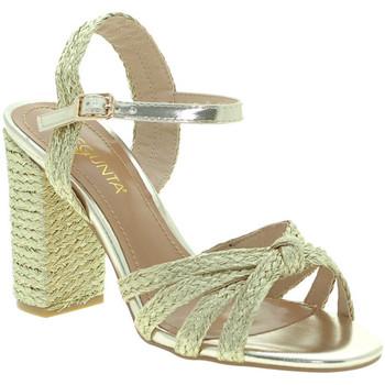 Sapatos Mulher Sandálias Pregunta ICD1719-9 Ouro