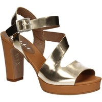 Sapatos Mulher Sandálias Mally 5180 Ouro
