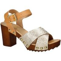 Sapatos Mulher Sandálias Keys 5864 Amarelo