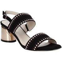 Sapatos Mulher Sandálias Melluso S553M Preto