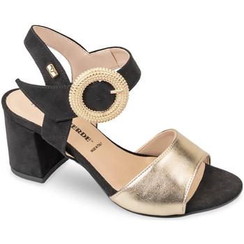 Sapatos Mulher Sandálias Valleverde 28251 Ouro