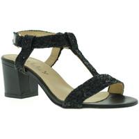 Sapatos Mulher Sandálias Mally 3895 Preto